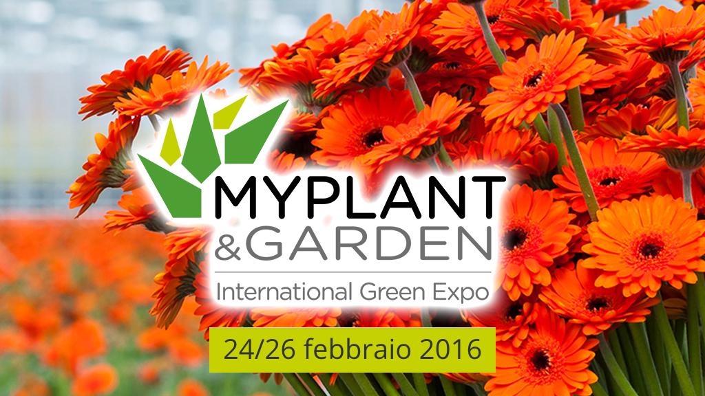 MYPLANT & GARDEN 2016