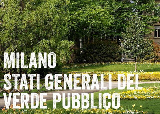 III EDIZIONE DEGLI STATI GENERALI DEL VERDE PUBBLICO
