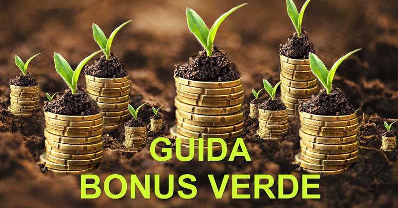 GUIDA AL BONUS VERDE