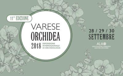 VARESE ORCHIDEA 2018 – ESPOSIZIONE INTERNAZIONALE DI ORCHIDOLOGIA